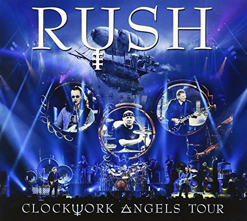 Rush Clockwork Angels Tour Import Jpn 3 CD