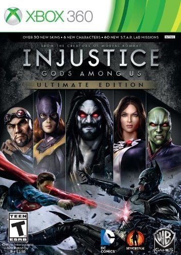 Xbox 360 Injustice Gods Among Us Ultimate Edition Whv Games T
