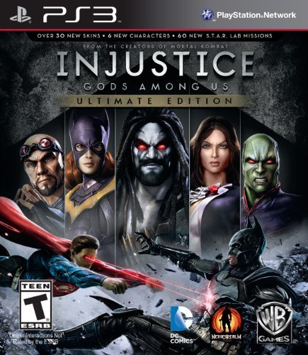 Ps3 Injustice Gods Among Us Ultima Whv Games T