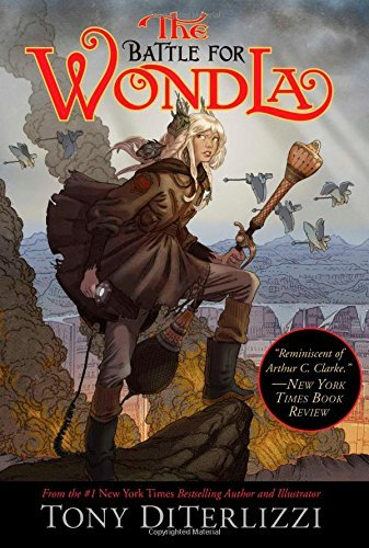 Tony Diterlizzi The Battle For Wondla