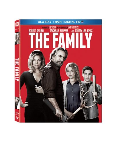 Family De Niro Jones Blu Ray Ws R DVD Uv