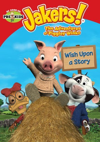 Jakers The Adventures Of Piggley Winks Wish Upon A Story DVD Tvy Fs
