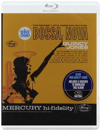 Quincy Jones Big Band Bossa Nova Blu Ray Audio