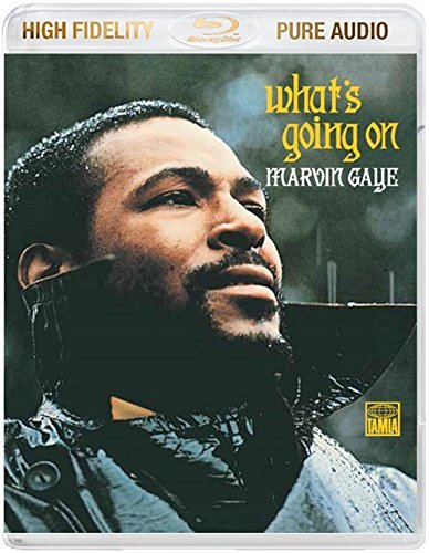 Marvin Gaye What's Going On Blu Ray Audio