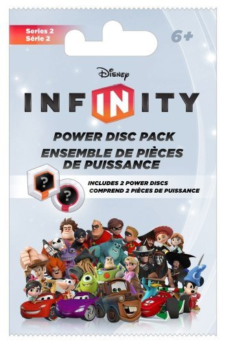 Disney Infinity Accessory Infinity Power Disc Pack Series 2 Can Be Used For All Systems 2 Discs Per Pack