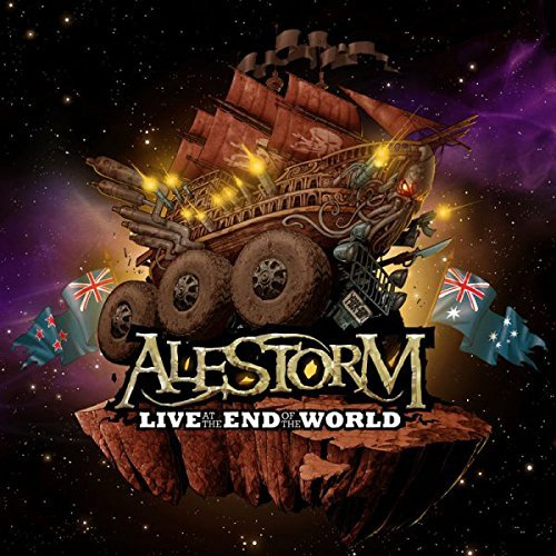 Alestorm Live At The End Of The World Incl. CD