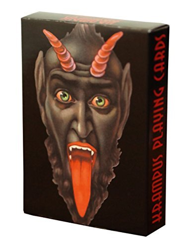 Monte Beauchamp Krampus Playing Cards
