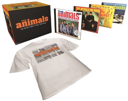 Animals Mickie Most Years & More 5 CD Incl. Xl T Shirt