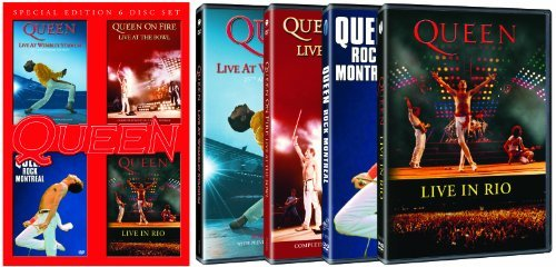 Queen Live At Wembley Rock Montreal Nr 6 DVD