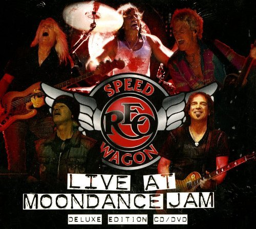 Reo Speedwagon Live At Moondance Jam Deluxe Ed. CD DVD