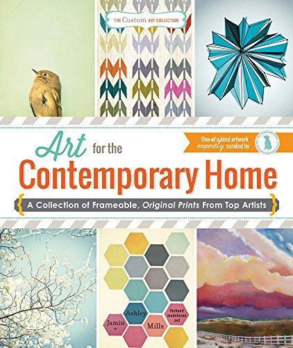 Ashley Mills Art For The Contemporary Home A Collection Of Frameable Original Prints From T