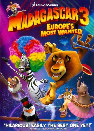 Ben Stiller Chris Rock Jada Pinkett Smith David Sc Madagascar 3 Europe's Most Wanted