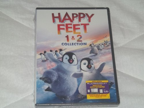 Happy Feet 1 & 2 DVD Collection (both Movies 1 And
