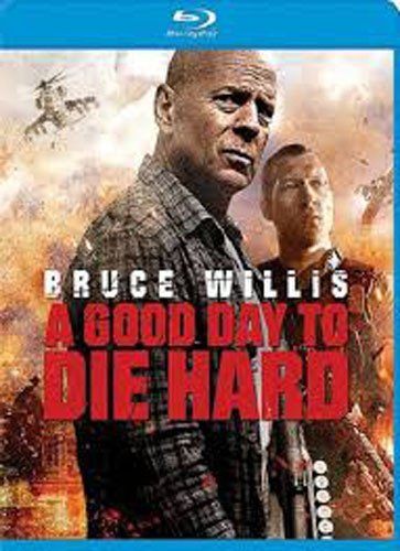 A Good Day To Die Hard (blu Ray) Starring Bruce Wi Willis Courtney Blu Ray