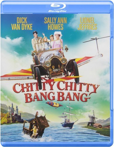 Chitty Chitty Bang Chitty Chitty Bang Blu Ray G13 Faceplate