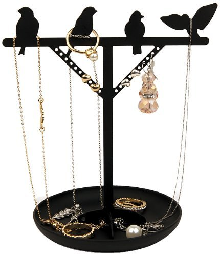 Novelty Bird Is The Word Jewelry Holder