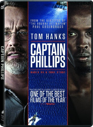 Captain Phillips Hanks Keener Martini DVD Uv Pg13 Ws