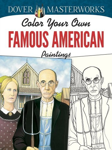 Marty Noble Color Your Own Famous American Paintings