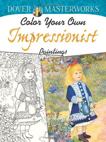 Marty Noble Color Your Own Impressionist Paintings