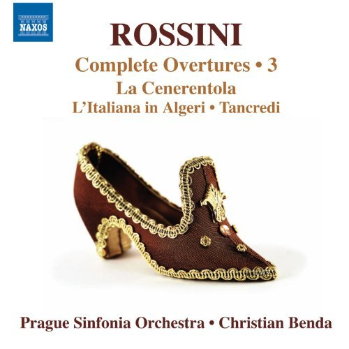 Gioachino Rossini Rossini Complete Overtures Vo Prague Sinfonia Orchestra Bend