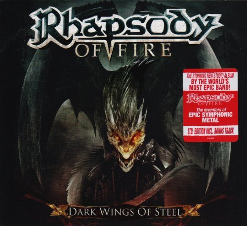 Rhapsody Of Fire Dark Wings Of Steel Digipak