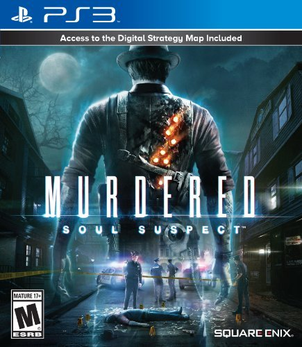 Ps3 Murdered Soul Suspect Square Enix Llc T