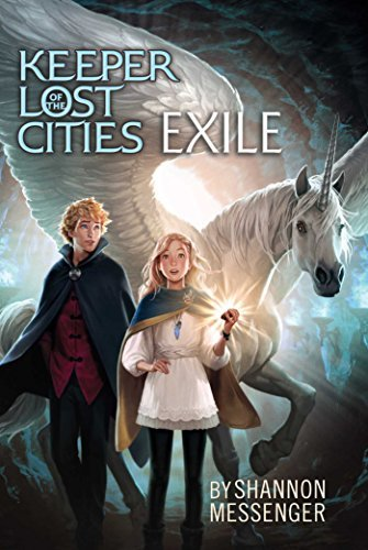 Shannon Messenger Exile (keeper Of The Lost Cities #2) Reprint