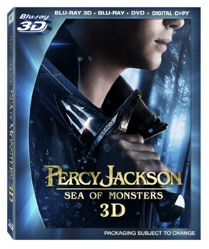 Percy Jackson Sea Of Monsters Lerman Daddario Jackson Blu Ray 3d DVD Uv Ws Pg