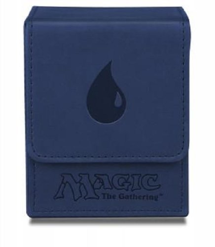 Deck Box Mtg Blue Mana Flip Box Matte Finish