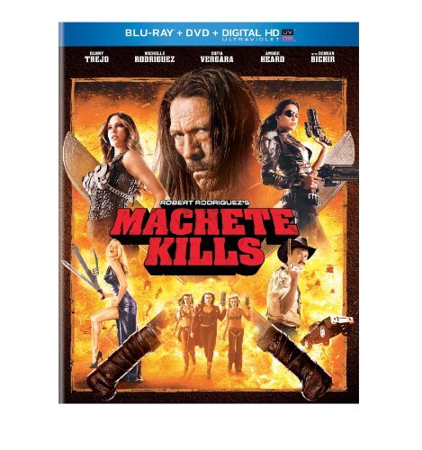 Machete Kills Trejo Rodriguez Vergara Heard Blu Ray DVD Uv R