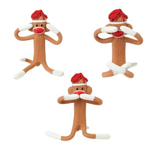 Toy Bendy Sock Monkey