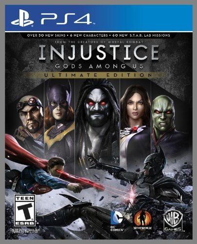 Ps4 Injustice Gods Among Us Ultima Whv Games T