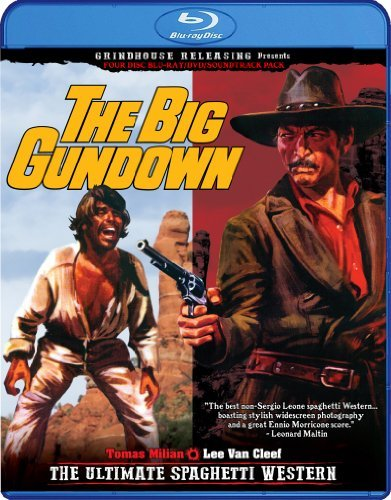 Big Gundown Cleef Milian Sancho Navarro Blu Ray Ws R 2 Br DVD CD Deluxe Ed.