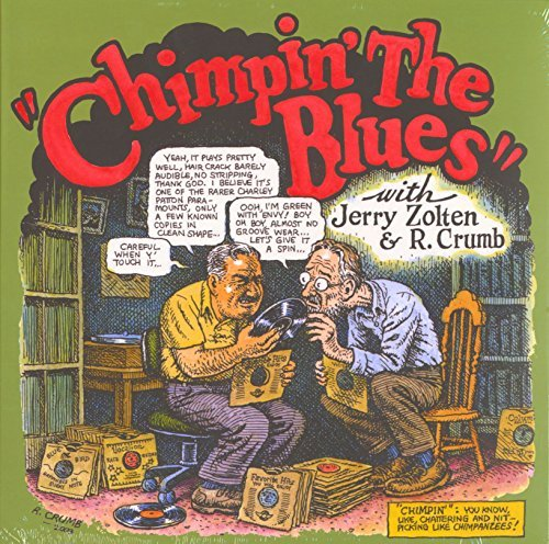 Robert & Jerry Zolten Crumb Chimpin' The Blues Colored Vinyl