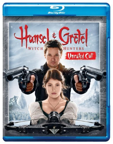 Hansel & Gretel Witch Hunters Renner Janssen Arterton Blu Ray Ws Nr
