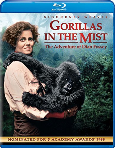 Gorillas In The Mist Weaver Brown Blu Ray Pg13 Ws