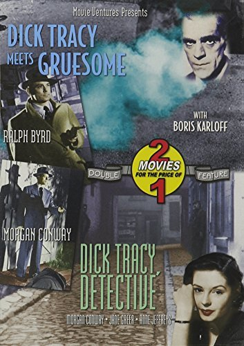 Dick Tracy Meets Gruesome Dick Tracy Detective Karloff Conway