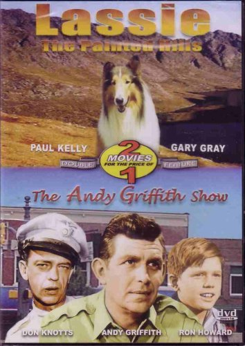 Lassie Painted Hills Andy Griffith Show Double Feature