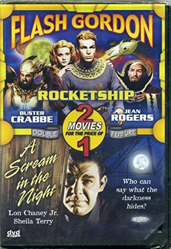 Rocketship A Scream In The Night Double Feature