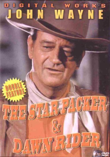 Star Packer Dawn Rider Wayne John Double Feature