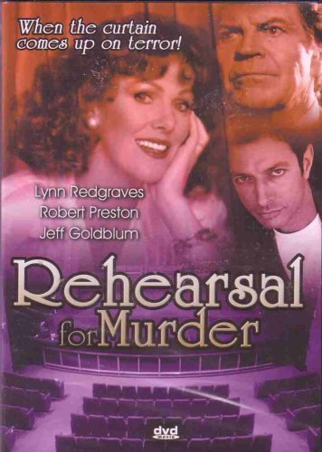 Robert Preston Lynn Redgraves Jeff Goldblum David Rehearsal For Murder