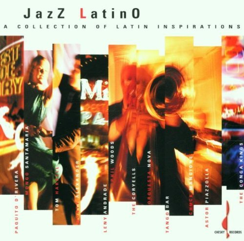Jazz Latino Collection Of Jazz Latino Collection Of Lat D'rivera Harrell Santamaria Orquesta Nova Piazzolla