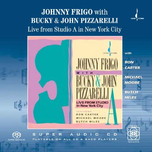 Bucky & John Frigo Pizzarelli Live From Study In New York Ci Sacd Hybrid 6 Ch