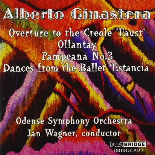 Alberto Ginastera Orchestral Music Wagner Odense So