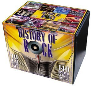 History Of Rock Vol. 1 10 History Of Rock Remastered 10 CD Set 10 CD