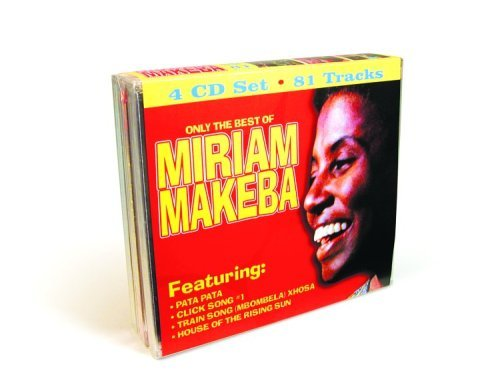 Miriam Makeba Only The Best Of Miriam Makeba 4 CD