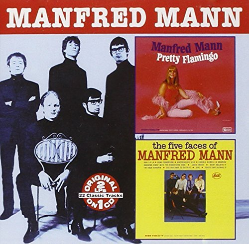Manfred Mann Pretty Flamingo Five Faces Of 2 On 1