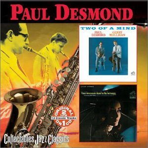 Paul Desmond Two Of A Mind Glad To Be Unhap 2 On 1