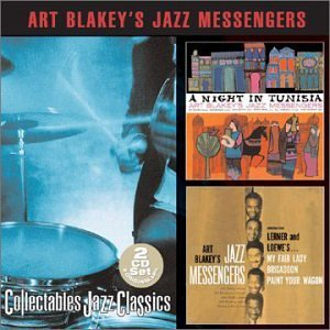 Art & Jazz Messengers Blakey Night In Tunsia Play Lerner & 2 CD