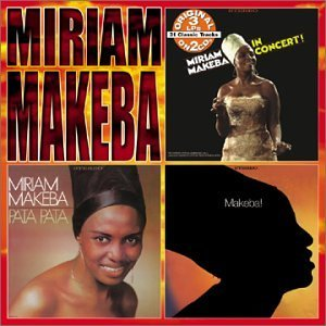 Miriam Makeba In Concert Pata Pata Makeba 2 CD